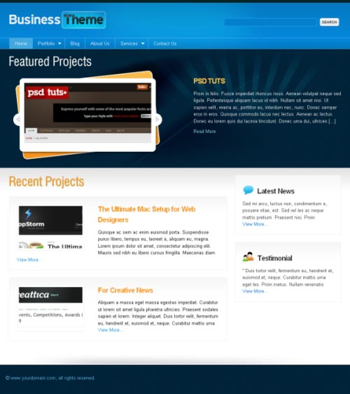 bussiness-cms-theme