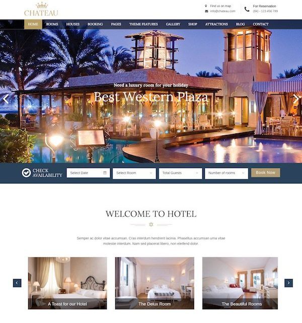chateau-wordpress-theme