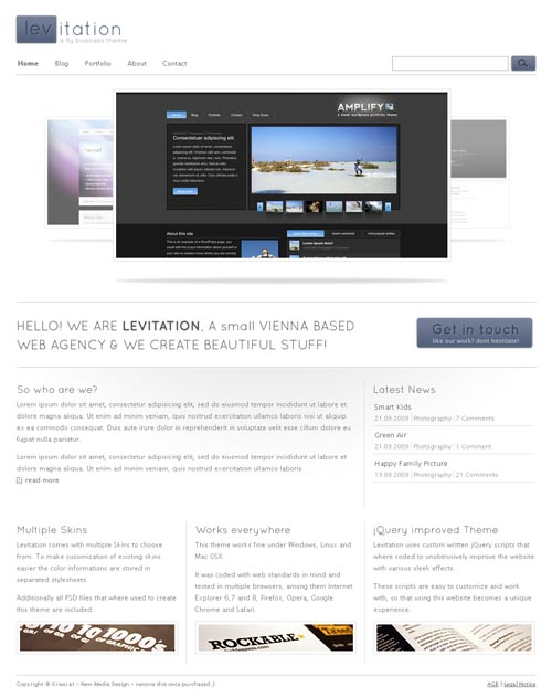 levitation-wordpress-theme
