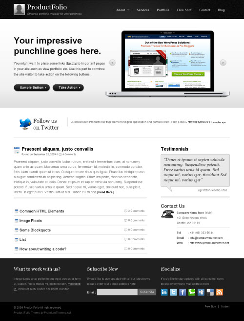 productfolio-wordpress-theme