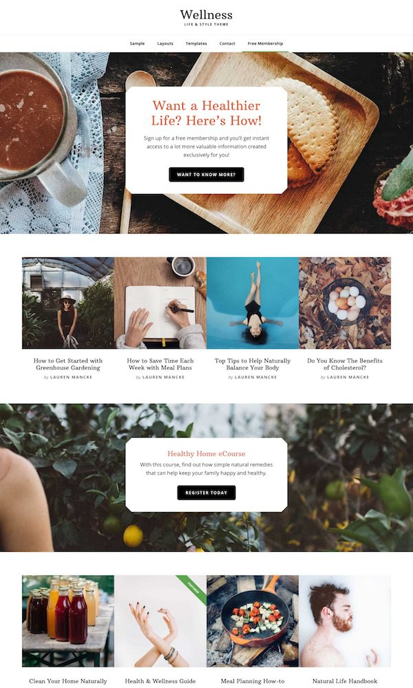 wellness-wordpress-theme